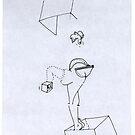 Petits Dessins Debiles - Small Weak Drawings#08 by Pascale Baud