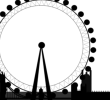 London Eye Panoramic Sticker