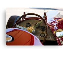 1950 Ferrari 212 F1 Interior Canvas Print