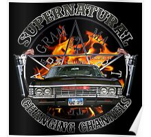 Supernatural changing channels silver 2 Poster