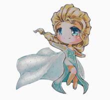 Chibi Snow Queen Elsa by Pixel-League