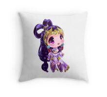 Lunar Chibi Goddess Diana Throw Pillow