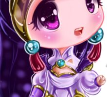 Lunar Chibi Goddess Diana Sticker