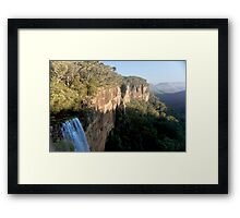 Fitzroy Falls at the Top Framed Print