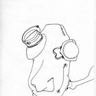 Petits Dessins Debiles - Small Weak Drawings#22 by Pascale Baud