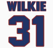 National baseball player Lefty Wilkie jersey 31 by imsport