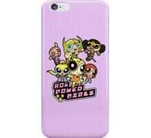 80s Power Girls iPhone Case/Skin