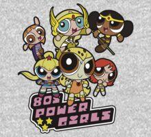 80s Power Girls Kids Tee