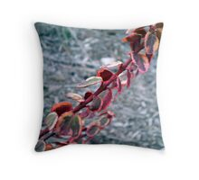Multi-Colored Leaves Throw Pillow