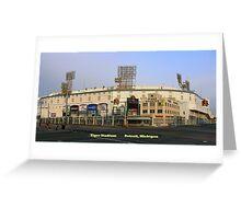 Tiger Stadium Greeting Card