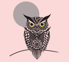 owl 1 One Piece - Long Sleeve