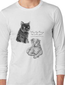Darth and Luke Long Sleeve T-Shirt