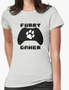 Furry Gamer - Xbox One Womens Fitted T-Shirt