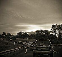 Traffic Lenticular by Kelly McGill