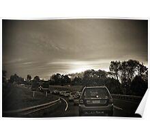 Traffic Lenticular Poster