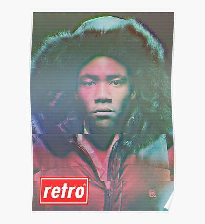 Childish Gambino - Retro Poster