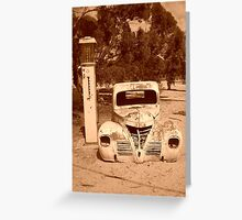 Back to the Old Days Greeting Card
