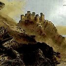 Harlech Castle, Wales - all products bar duvet by Dennis Melling