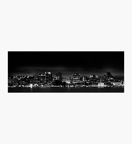 Halifax at Night Photographic Print