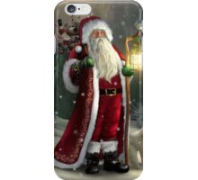 The Christmas Traveler iPhone Case/Skin
