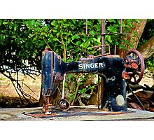 """Silence of the Singer"" Photographic Print"