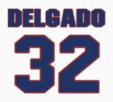 National baseball player Alex Delgado jersey 32 by imsport