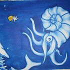 Nautilus vs Whale by Timmy Pottle
