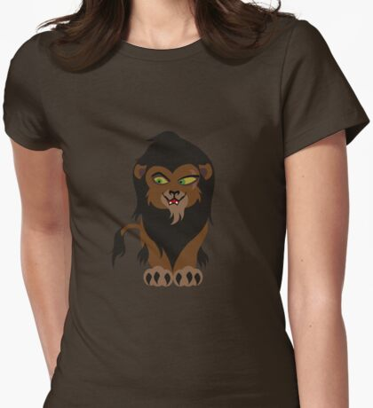 Chibi Scar Womens Fitted T-Shirt
