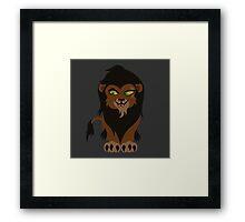 Chibi Scar Framed Print