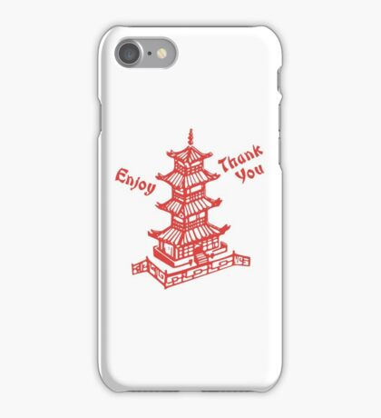 Chinese Food Take Out iPhone Case/Skin