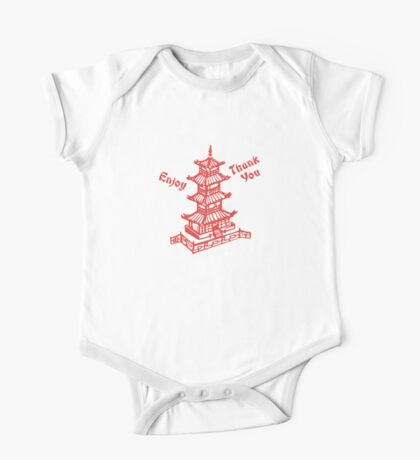 Chinese Food Take Out One Piece - Short Sleeve