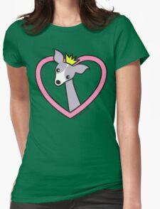 Princess Italian Greyhound Womens Fitted T-Shirt