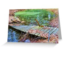 A Spot for Reflection Greeting Card