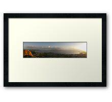 Townsville Sunrise from Castle Hill Framed Print