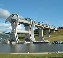 Falkirk Wheel by Jackie Wilson