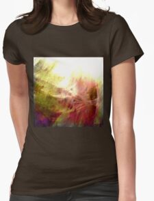 abstract texture Womens Fitted T-Shirt
