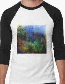 textured Men's Baseball ¾ T-Shirt