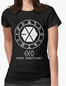 EXO from EXO Planet Womens Fitted T-Shirt