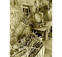 Country clutter Photographic Print
