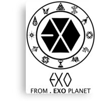 EXO from EXO Planet 2 Canvas Print