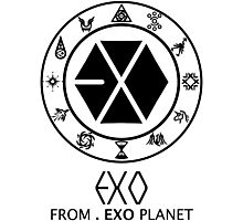 EXO from EXO Planet 2 Photographic Print