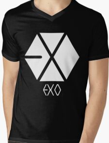 Exo Logo Mens V-Neck T-Shirt