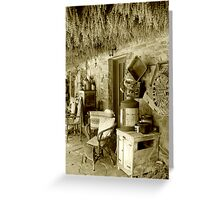 A lazy day on the lavender farm... Greeting Card