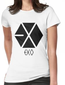 Exo Logo 2 Womens Fitted T-Shirt
