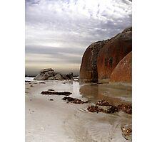 A barren beach... Photographic Print