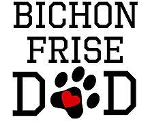 Bichon Frise Dad by kwg2200