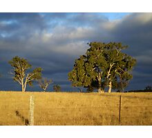 Storms Brewin' Photographic Print