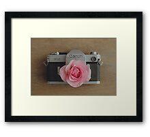 Floral Canon Framed Print