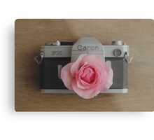 Floral Canon Metal Print