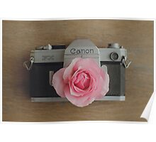 Floral Canon Poster